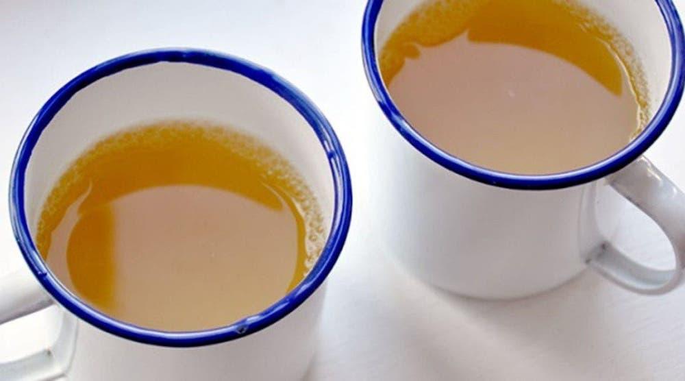 Slabeste cu ceai de ghimbir si lamaie