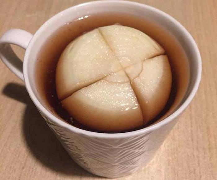 Ceai negru cu ceapa remediu